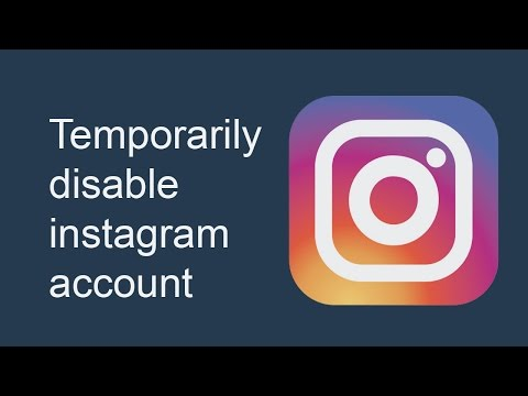 how to delete instagram account 2017 android